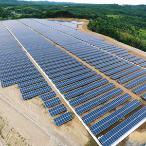 太陽光発電事業のイメージ